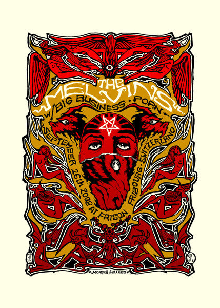 MELVINS - Fribourg 2008 by Alan Forbes & Malleus