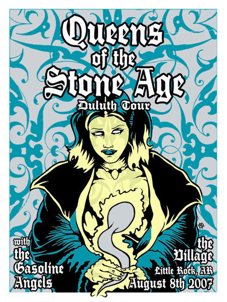 QUEENS OF THE STONE AGE - Little Rock 2007 by Mike Murphy