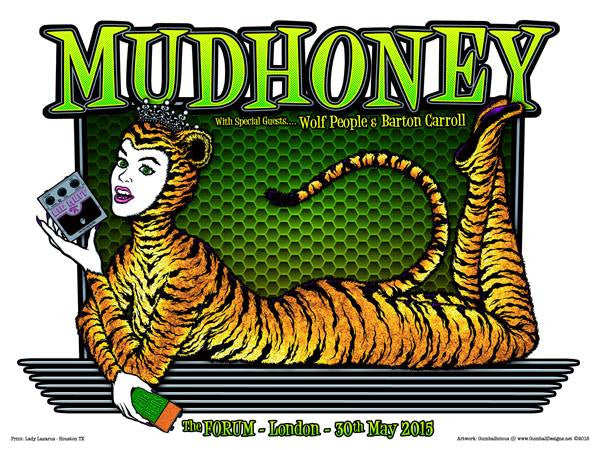 MUDHONEY - London 2015 by Gumball
