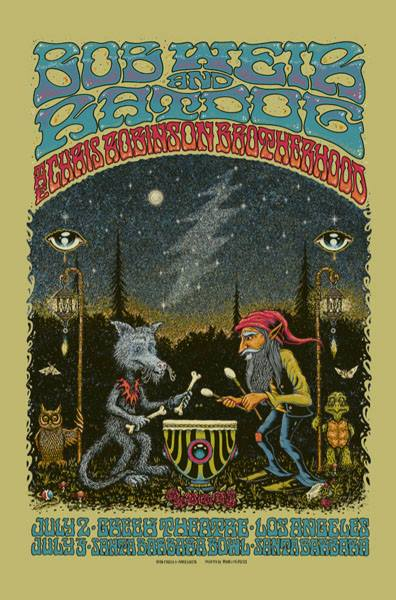 BOB WEIR AND RATDOG / CRB - Los Angeles 2014 by Alan Forbes & Marq Spusta