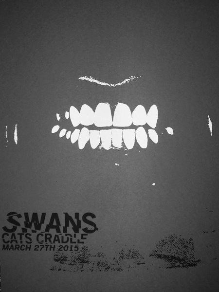 SWANS - Carrboro 2015 by Francisco Ramirez