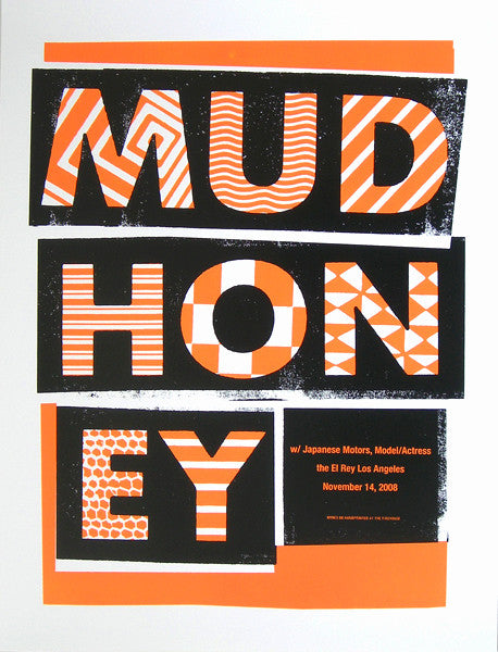 MUDHONEY - Los Angeles 2008 by Alan Hynes