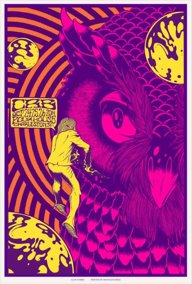 THE CHRIS ROBINSON BROTHERHOOD - Charleston 2014 by Alan Forbes