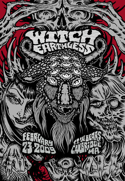 WITCH / EARTHLESS - Cambridge 2009 by Alan Forbes & Tim Lehi