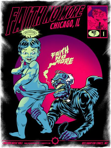 FAITH NO MORE - Chicago 2015 by Zombie Yeti