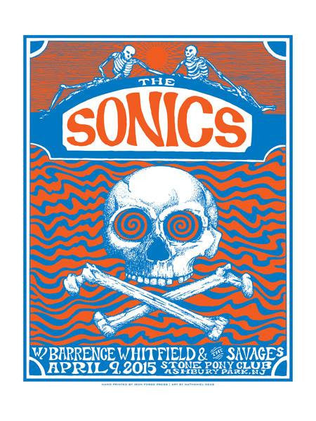 THE SONICS - Asbury Park 2015 by Nate Deas