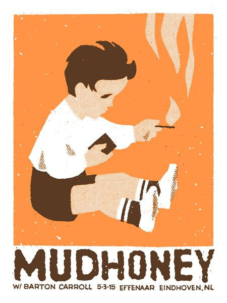 MUDHONEY - Eindhoven 2015 by Mathias Valdez