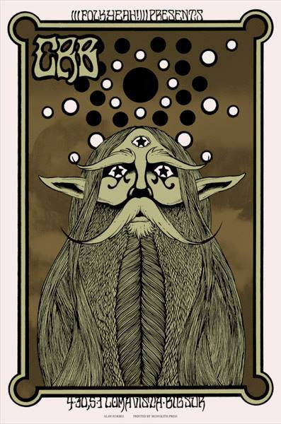 THE CHRIS ROBINSON BROTHERHOOD - Big Sur 2015 by Alan Forbes