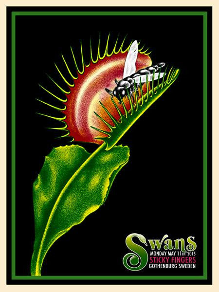 SWANS - Gothenburg 2015 by Delano Garcia