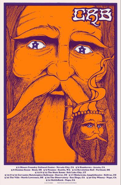 THE CHRIS ROBINSON BROTHERHOOD - Tour 2015 (5/5/15 - 5/31/15) by Alan Forbes