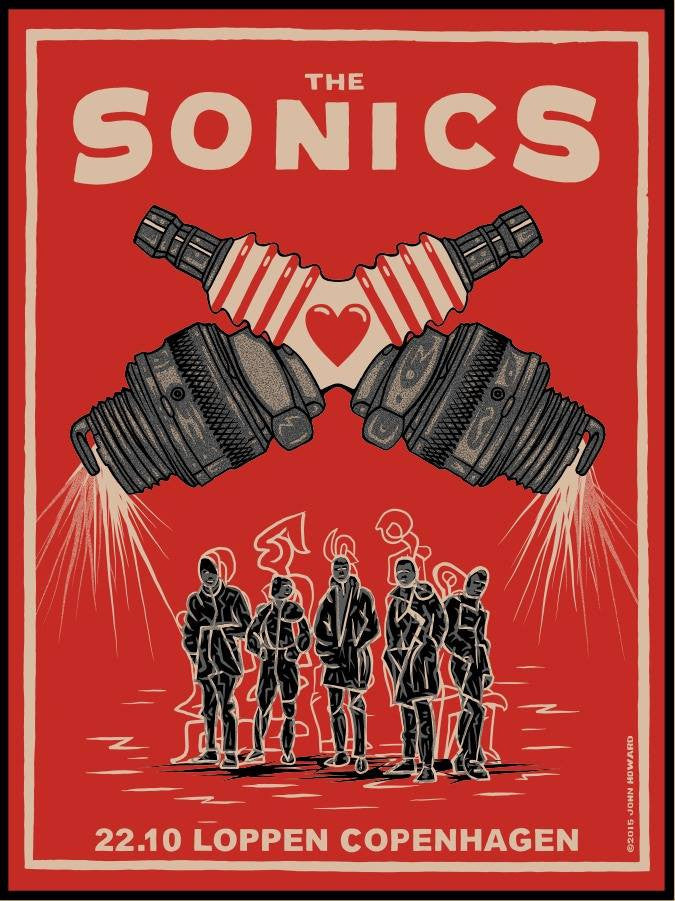 THE SONICS - Copenhagen 2015 by John Howard