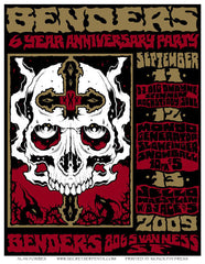 BENDERS 6th ANNIVERSARY - San Francisco 2009 by Alan Forbes