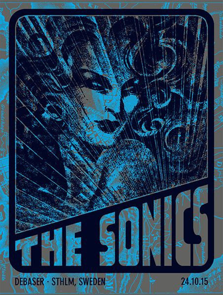 THE SONICS - Stockholm 2015 by Johnny Quinine