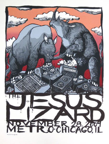 THE JESUS LIZARD - Chicago 2009 by Diana Sudyka