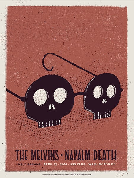 MELVINS / NAPALM DEATH - Washington DC 2016 by Munster Studio