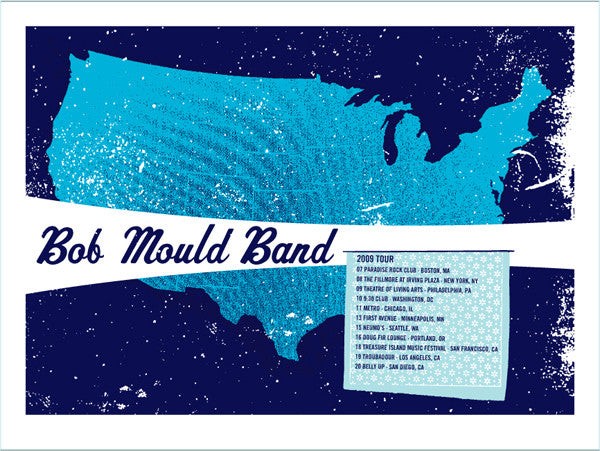 BOB MOULD BAND - US tour 2009 by Lil Tuffy