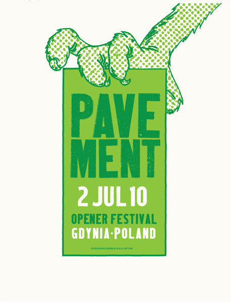 PAVEMENT - Gdynia 2010 by Lil Tuffy