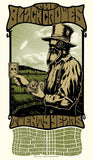 THE BLACK CROWES - Tour 2010 by Alan Forbes (10/22/10 - 11/10/10) (handbill)