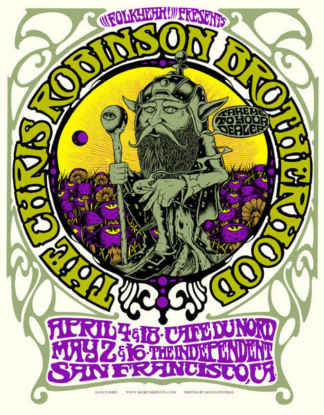 THE CHRIS ROBINSON BROTHERHOOD - San Francisco 2011 by Alan Forbes