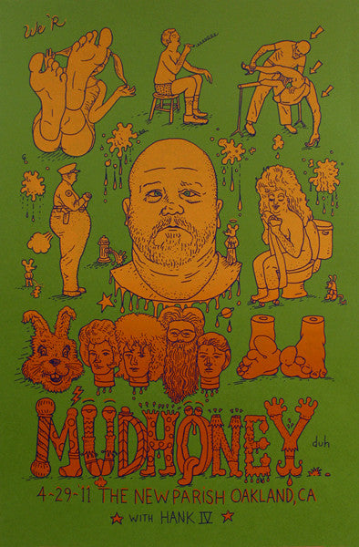 MUDHONEY - Oakland 2011 by David Welker - see description