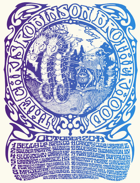 THE CHRIS ROBINSON BROTHERHOOD - Tour 2011 (10/1/11 - 10/21/11) by Alan Forbes