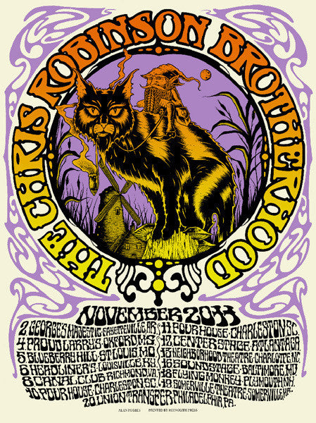 THE CHRIS ROBINSON BROTHERHOOD - Tour 2011 (11/2/11 - 11/20/11) by Alan Forbes