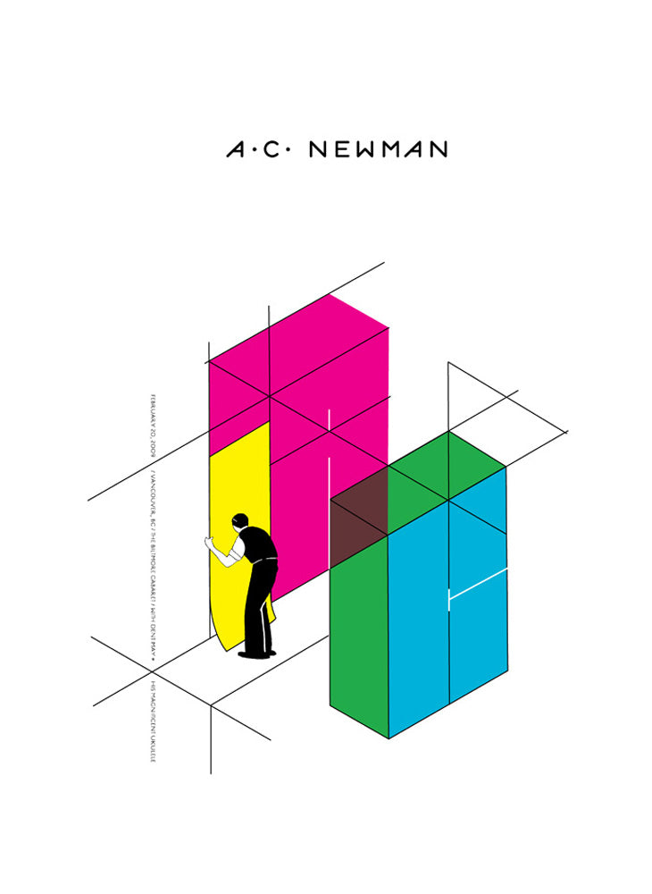 AC NEWMAN - Vancouver 2009 by Jeff Kleinsmith