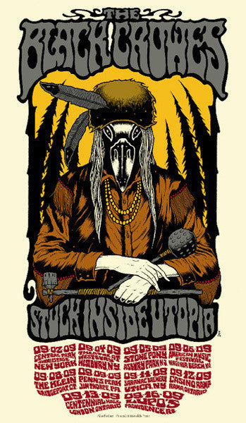 THE BLACK CROWES - Tour 2009 by Alan Forbes (9/2/09 - 9/16/09)