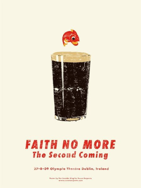 FAITH NO MORE - Dublin 2009 by Decoder Ring