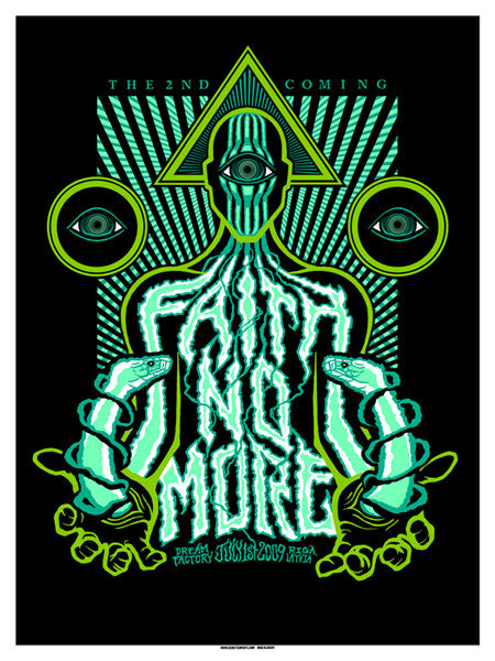 FAITH NO MORE - Latvia 2009 by Brad Klausen