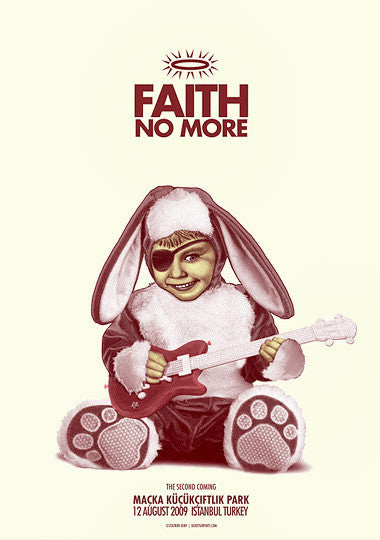 FAITH NO MORE - Istanbul 2009 by Zoltron