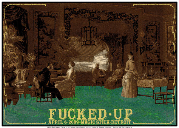 FUCKED UP - Detroit 2009 by Chuck Sperry