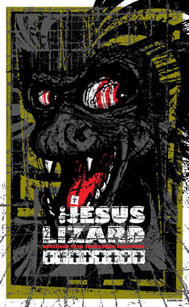 THE JESUS LIZARD - Baltimore 2009 by Brad Klausen