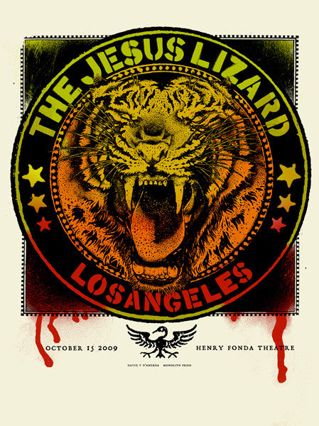THE JESUS LIZARD - Los Angeles 2009 by David D'Andrea