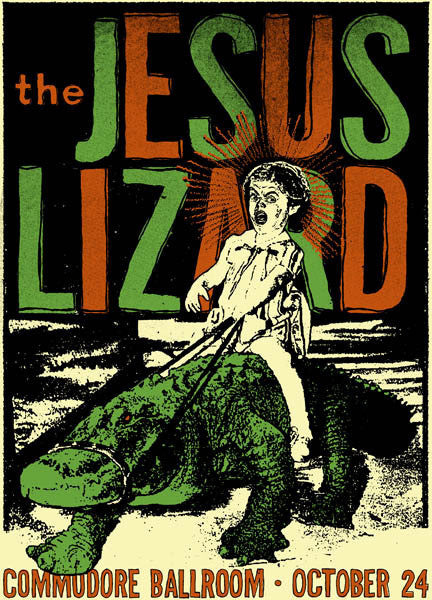 THE JESUS LIZARD - Vancouver 2009 by Nat Damm