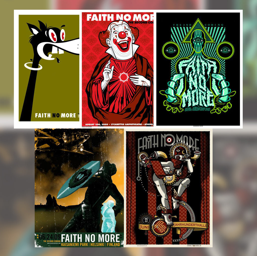 2009 FAITH NO MORE - (Not So) Mystery Tube VERY FEW AVAILABLE