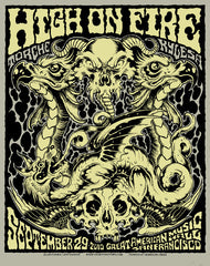 HIGH ON FIRE - San Francisco 2010 by Alan Forbes & Jeff Rassier
