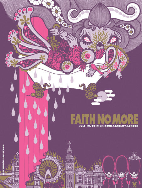 FAITH NO MORE - London 2012 by Junko Mizuno