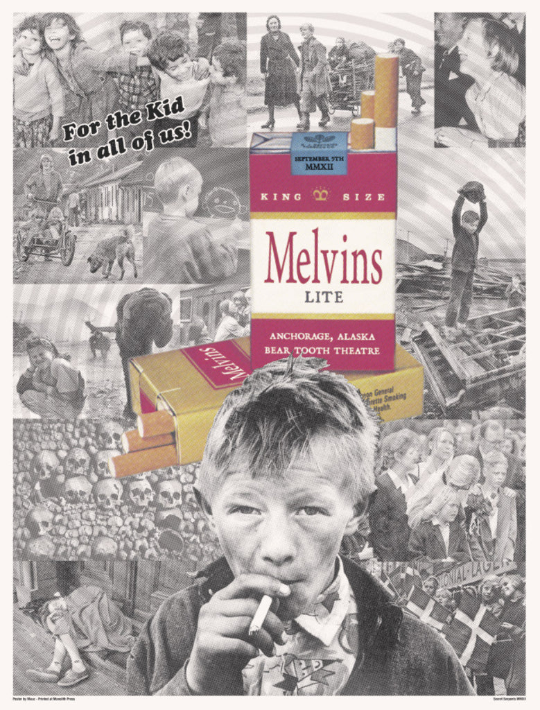 MELVINS LITE - Anchorage 2012 by Mauz