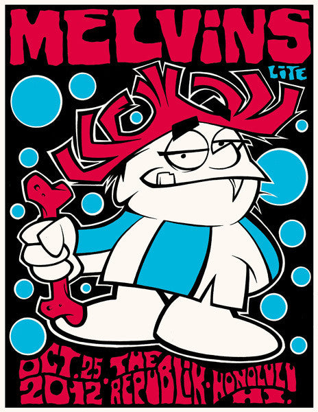 MELVINS LITE - Honolulu 2012 by Alan Forbes