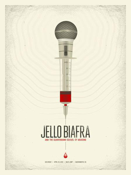 JELLO BIAFRA & GSOM - Sacramento 2013 by Anonymous Ink