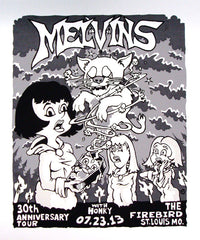 MELVINS - St Louis 2013 by Mike Murphy