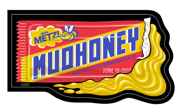MUDHONEY - Birmingham 2013 by Weird Beard