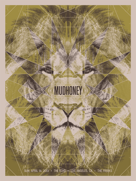 MUDHONEY - Los Angeles 2013 by Anonymous Ink