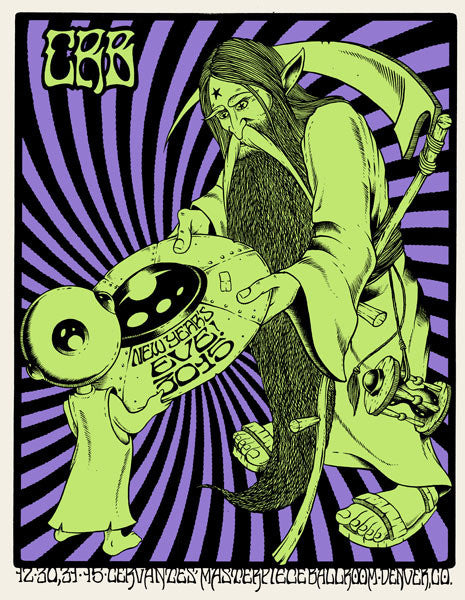 CHRIS ROBINSON BROTHERHOOD - Denver NYE 2014 by Alan Forbes