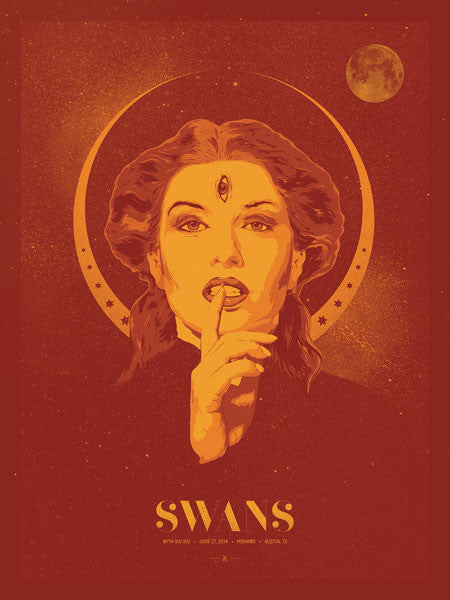 SWANS - Austin 2014 by Anonymous Ink