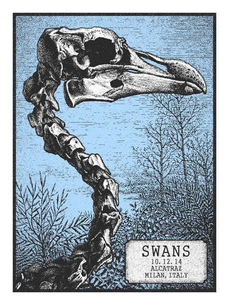 SWANS - Milan 2014 by Mathias Valdez
