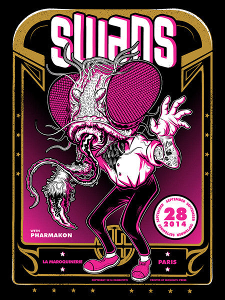 SWANS - Paris 2014 by Zombie Yeti