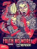 FAITH NO MORE / REFUSED - Columbia 2015 by Zombie Yeti