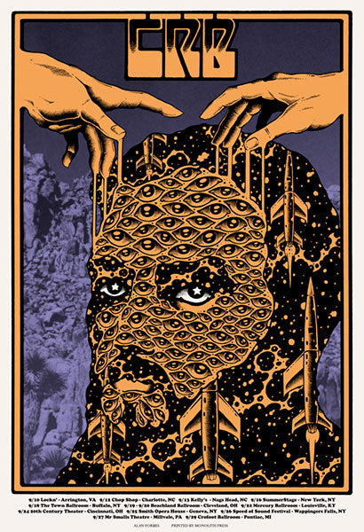 THE CHRIS ROBINSON BROTHERHOOD - Sept Tour 2015 (9/10/15 - 9/29/15) by Alan Forbes